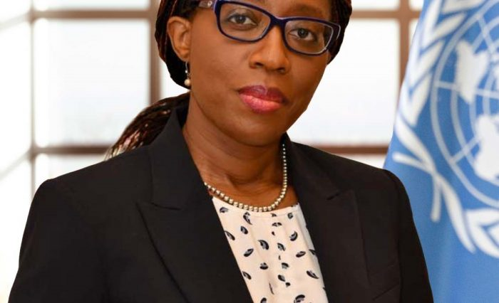 Vera Songwe official photo March 2019